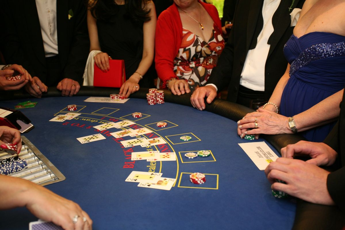 Charity Fund Raising Casino Hire